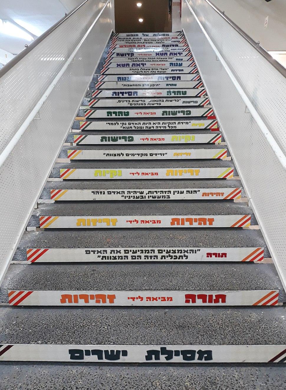 מסילת. ישרים מדרגות