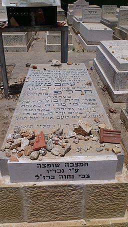 קבר הרב חרלפ - 1