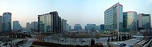 Zhongguancun - Panorama of tech hub.