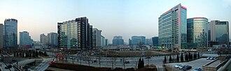 Zhongguancun - Panorama of tech hub.