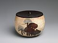 伝尾形乾山 松文水差-Water Jar (Mizusashi) with Pine Trees MET DP247461.jpg