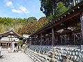 八幡神社の境内社群 下市町下市(今在家) 2013.2.09 - panoramio.jpg