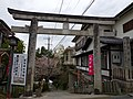 吉水院(吉水神社)の鳥居 吉野町吉野山 Shrine gate of Kissui-in (Yoshimizu-jinja) 2013.4.03 - panoramio.jpg
