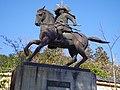 観心寺にて 楠木正成銅像 Figure of Kusunoki Masashige 2013.3.15 - panoramio.jpg