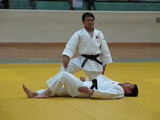 Katame-no-kata Judo form/technique