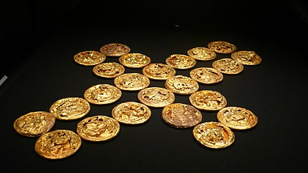 Gold Coins of the Eastern Han dynasty Jin Bing Hai Hun Hou Guo Yi Zhi .JPG