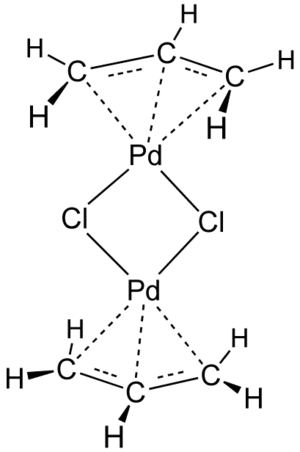 Allylpalladium chloride dimer - Image: All Pd Cl 2