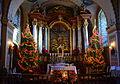 005 Weihnachtsaltar und Krippe in der Sanoker Franziskanerkirche, 2013.jpg