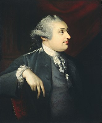 William Cavendish-Bentinck, 3rd Duke of Portland - Portrait by Matthew Pratt