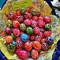 02016 0150 Traditionelle zerkratzt handgemachte Osterei aus Stara Wies, Sanoker Osterkirmes.jpg