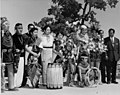 03117 Grand Canyon Historic Burma's Prime Minister with Hopi Dancers 1955 (5020236879).jpg
