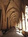 067 Antic convent de Sant Agustí, galeria del claustre.jpg