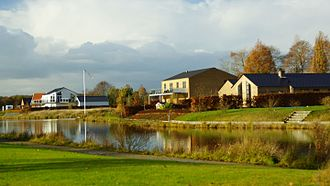 Ryomgård - Housing style in Ryomgård circa 2015