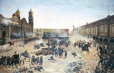 13488 2 de abril de 1867. Entrada del general Porfirio Díaz a Puebla.jpg