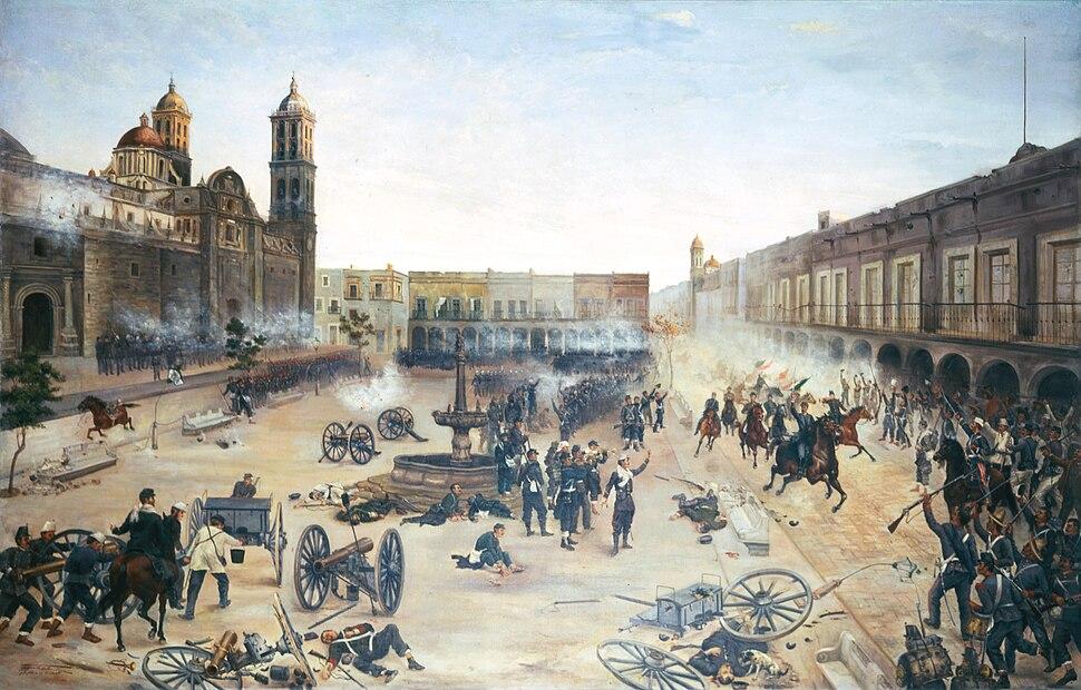 13488 2 de abril de 1867. Entrada del general Porfirio Díaz a Puebla