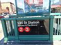 135th Street Lenox Ave NE Subway Staircase.JPG