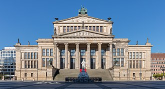 Konzerthaus Berlin - The Konzerthaus Berlin in 2015.
