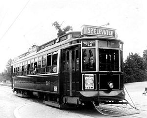 Laconia Car Company - Boston Elevated Railway streetcar built by Laconia Car Company in 1911