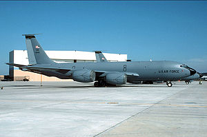 Mississippi Air National Guard - Image: 153d Air Refueling Squadron KC 135E 59 1446