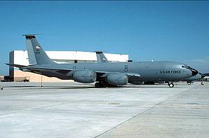 153d Air Refueling Squadron - Mississippi Air National Guard 153d Air Refueling Squadron KC-135E 59-1446, Key Field Air National Guard Base.