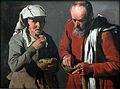1622-25 de la Tour Erbsen essendes Bauernpaar anagoria.JPG