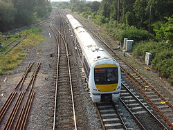 Zug der Chiltern Railways bei West Ruislip