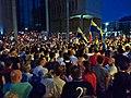 16 Protesty przeciwko zmianom w sądownictwie w Polsce - protest Wolne Sądy, Sąd Okręgowy Katowice.jpg