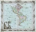 1764 Brion de la Tour Map of America ( North America ^ South America ) - Geographicus - America-delisle-1764.jpg