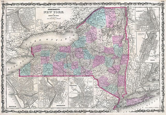 File 1862 johnson map of new york state geographicus ny johnson