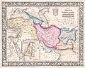 1864 Mitchell Map of Persia, Turkey and Afghanistan (Iran, Iraq) - Geographicus - Persia-mitchell-1864.jpg