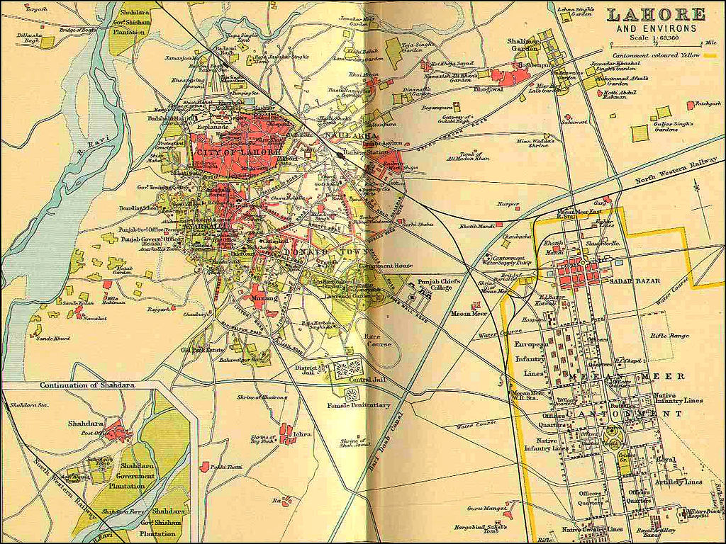 file map of lahore  wikimedia commons - file map of lahore