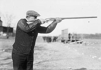 Charles W. Billings - Billings in 1912 on Travers Island, New York
