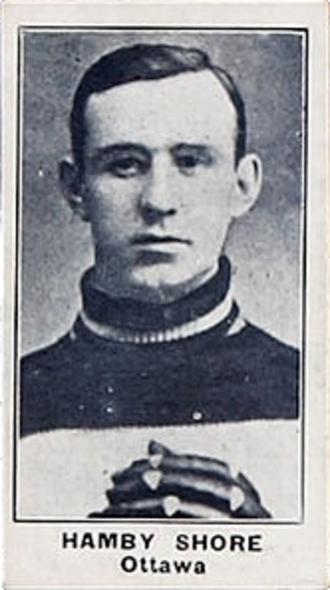 Hamby Shore - Image: 1912 C57 Hockey Series Hamby Shore
