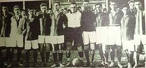 1926–27 Galatasaray S.K. season - Galatasaray SK 1926-27 Champion Team