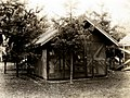 1937. Insectary field laboratory set up by Robert L. Furniss at the Pack Forest. La Grande, Washington. (34605593260).jpg