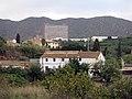 193 Mas Amigó (Canyet), al fons Can Pujol i l'hospital de Can Ruti.JPG