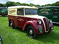 1941 Morris Z Type 2 (GGY 110) panel van, 2012 HCVS Tyne-Tees Run (1).jpg