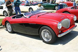Austin-Healey - Image: 1955 austin healey archives