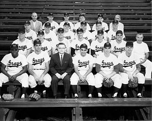 English: The 1959 Williamsport Grays, an Ameri...