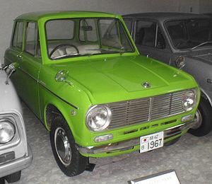 Suzuki Fronte - Late (1967) Suzulight Fronte