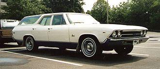 Chevrolet Nomad - Image: 1969 Chevrolet Chevelle Nomad
