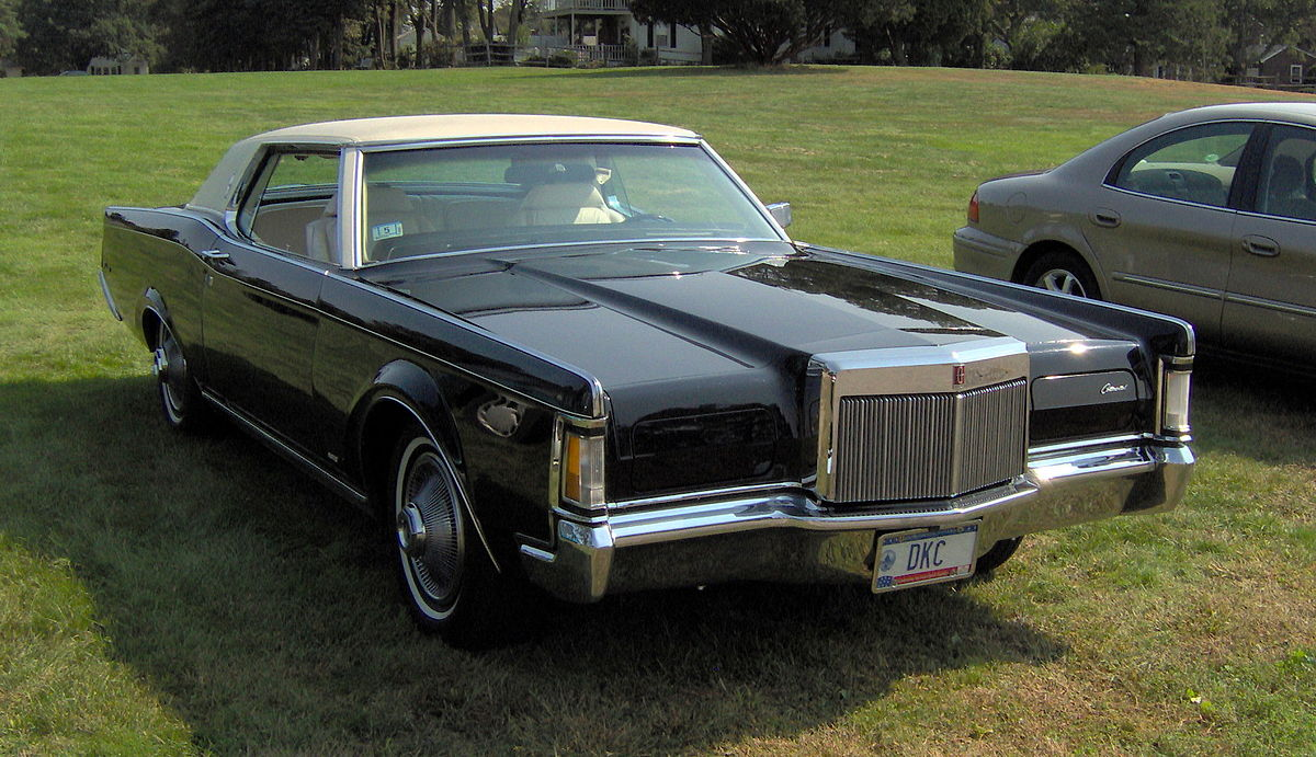 Lincoln Mark Series Wikipedia 1970 Ford Thunderbird 2 Door