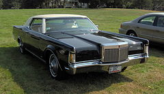 Lincoln Continental Mark III z 1969 roku