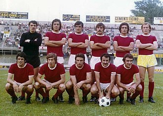 Varese Calcio - 1972–73 Varese with a young Claudio Gentile (standing, second from right)