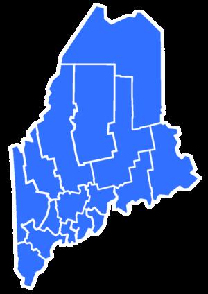 Maine gubernatorial election, 1982 - Image: 1982Maine Gubernatorial