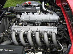1983 Ferrari 512 BBi Engine (3737263172).jpg