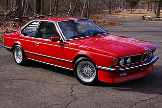 BBS Kraftfahrzeugtechnik - 1985 BMW M635CSi wearing the stock BBS RS007 wheels.
