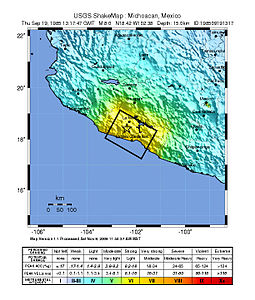 1985 Mexico Earthquake 19850919 1317 UTC loc.jpg
