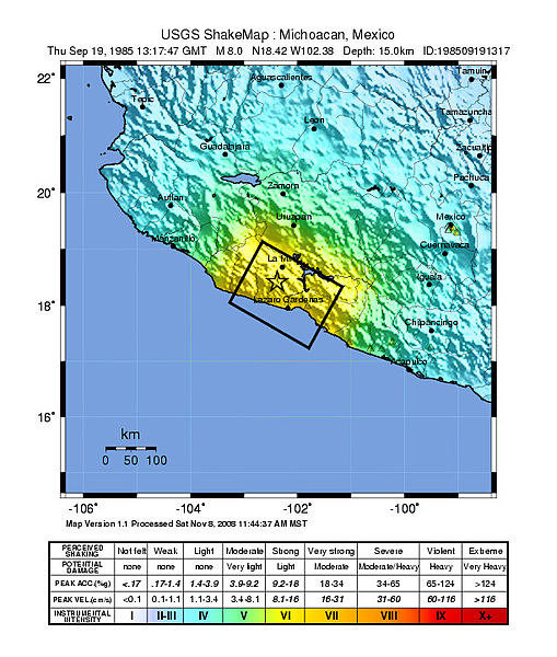 Michoacan Earthquake