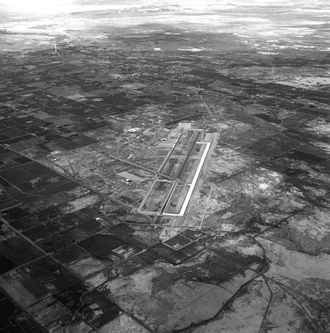Naval Air Station Fallon - Aerial view of NAS Fallon, 1988